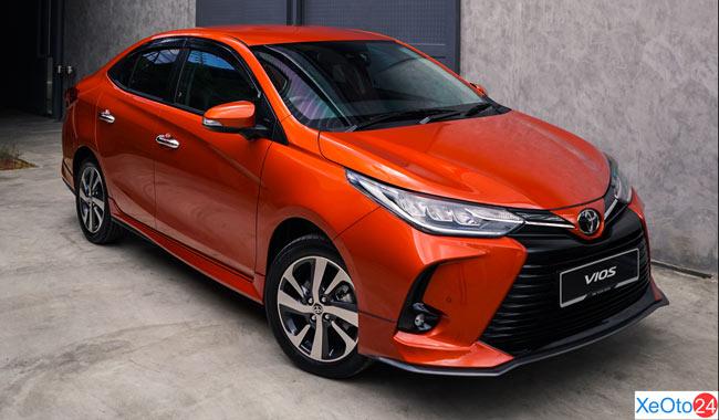 Xe Toyota Vios 2021