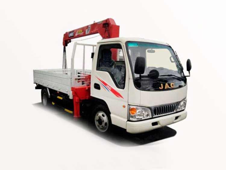 Xe tải gắn cẩu Jac