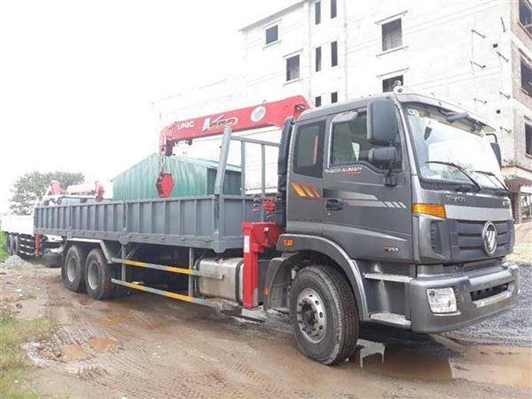 Xe tải gắn cẩu Thaco