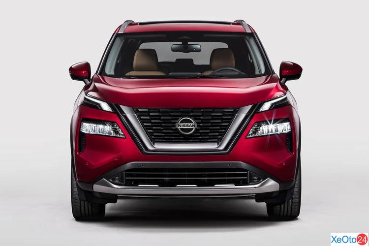 Phần đầu xe Nissan X-Trail 2021