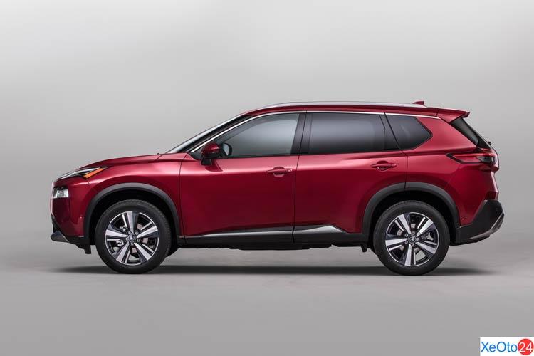 Phần thân xe Nissan X-Trail 2021