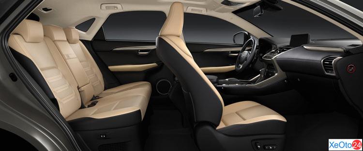 Tổng quan khoang nội thất của xe Lexus 300 2021