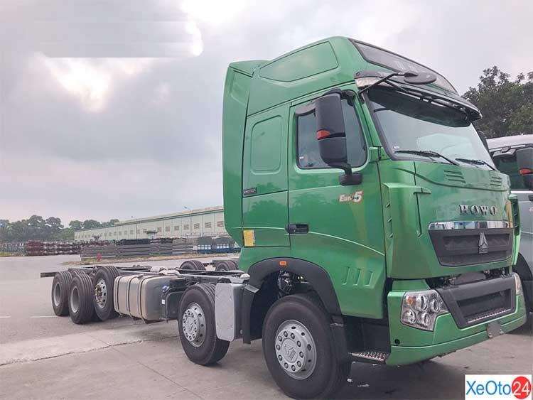 Giá xe tải Howo 5 chân