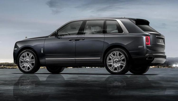 Ngoại thất Rolls Royce Cullinan 2021