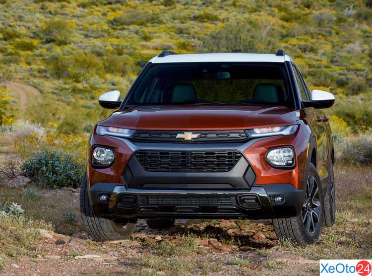 Phần đầu xe Chevrolet Trailblazer 2021