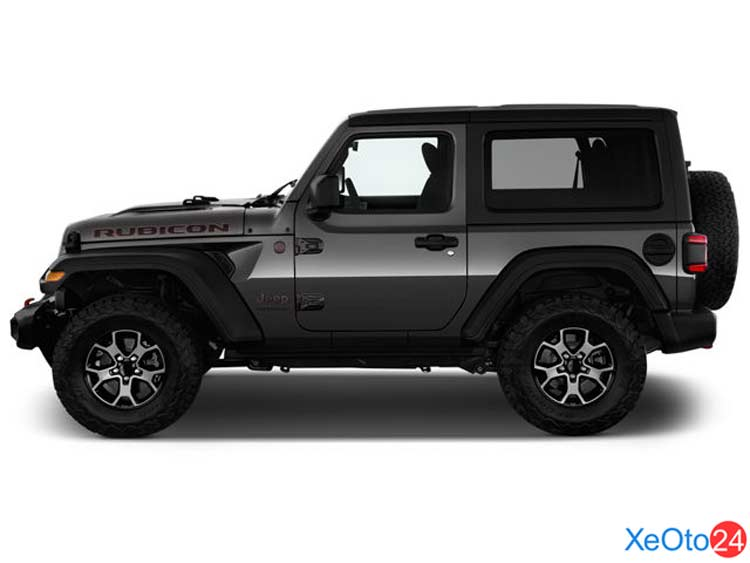 Phần thân xe Jeep Wrangler 2021