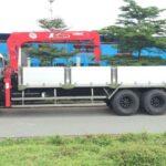 HINO fl 15 tấn lắp cẩu unic 5 tấn