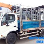 Xe tải mui bạt - thùng kín HINO 5 tấn