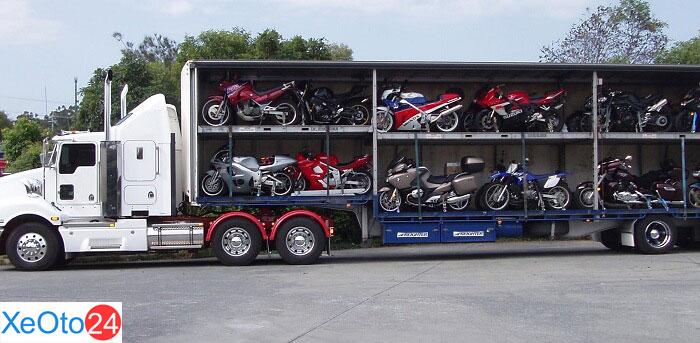 Có khá nhiều thương hiệu xe chở xe máy ra đời để đáp ứng nhu cầu đa dạng của khách hàng